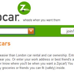 Negócios pelo Mundo #1: Zipcar, aluguel decarros.