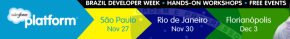 Semana Plataforma Salesforce para Desenvolvedores no Brasil – WorkshopGratuito