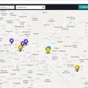 Mapa de Startups de SantaCatarina