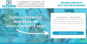 Congresso virtual gratuito com palestras sobree-commerce