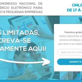Congresso virtual gratuito com palestras sobre e-commerce