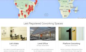Mais de 250 Coworkings pelomundo