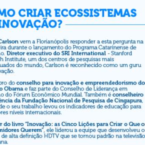 Lançamento do Programa Catarinense deInovação