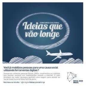Concurso Cultural do Social Good Brasil leva case brasileiro a NovaIorque