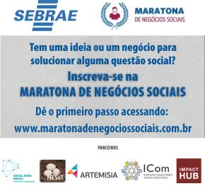1ª Edição da Maratona Sebrae de Negócios SociaisSC
