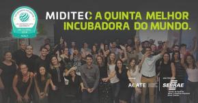 MIDITEC é premiada como a 5ª melhor incubadora domundo