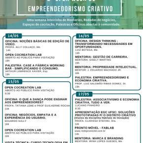 2ª Open Week de Empreendedorismo Criativo no CentroSapiens
