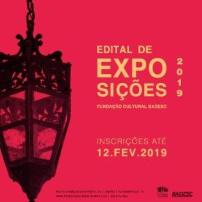Aberto Edital 2019 da Fundação CulturalBadesc