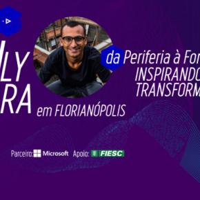 Gerando Falcões: Eduardo Lyra, emFlorianópolis