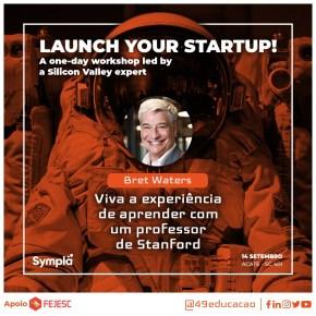 49 Educação traz workshop com professor da Stanford University paraFlorianópolis