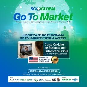 Parceria entre Sebrae/SC, Fiesc e Consulado dos EUA proporciona curso gratuito de negócios e empreendedorismo aos empresárioscatarinenses