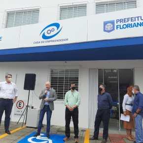 Sebrae/SC e prefeitura de Florianópolis inauguram a Casa doEmpreendedor