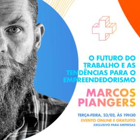 Marcos Piangers fará palestra gratuita sobre as tendências do empreendedorismo em evento doSebrae/SC