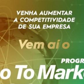 Programa Go To Market estimula pequenos negócios a conquistarem espaço no mercadointernacional