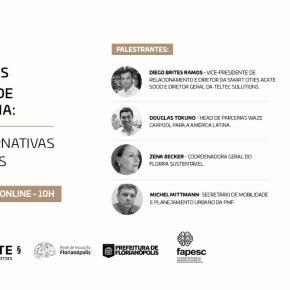 Mobilidade e tecnologia: evento online e gratuito irá debater novas alternativas paraFlorianópolis